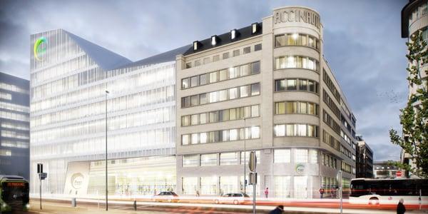 HQ Post | CBA | Christian Bauer & Associés Architectes s.a.