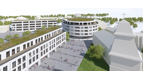 Nei Mëtt | CBA | Christian Bauer & Associés Architectes s.a.